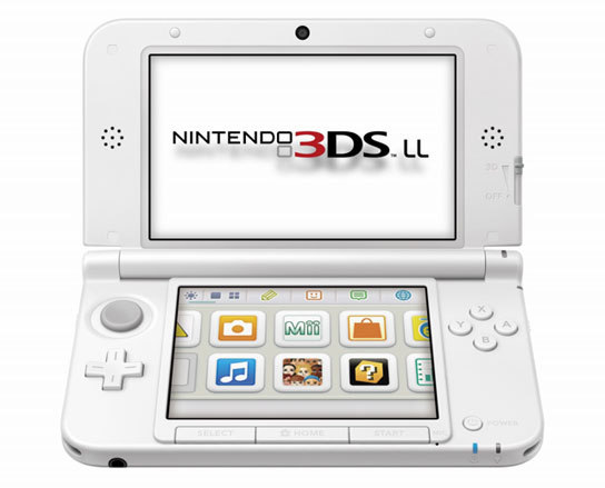 nintendo announces 3ds ll top 3d screen and. Black Bedroom Furniture Sets. Home Design Ideas